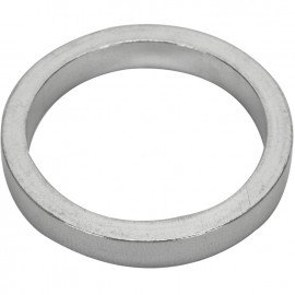 """1-1/8"""" Alloy Headset 5mm Spacers BLACK, and SILVER"""