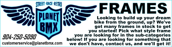 BMX Frames