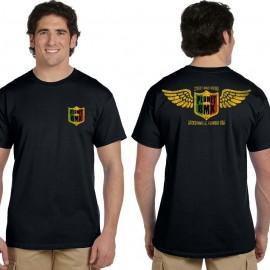"PlanetBMX Rasta logo ""Wings"" t-shirt BLACK or ARMY GREEN"