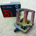 "Primo JJ PC 9/16"" pedals in COLORS and OIL SLICK"