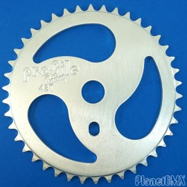 Profile RIPSAW sprocket SILVER or RED (NOS-Mid-School 90's)