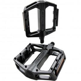 """Redline Lo-Pro alloy platform 1/2"""" pedals BLACK or SILVER"""
