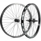 "22"" Revenge Industries 9t Cassette sealed wheelset 3/8"" front, 14mm rear BLACK"