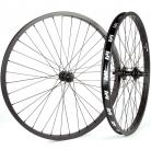 "26"" Revenge Industries 10t Cassette wheelset 3/8"" front sealed, 14mm rear BLACK"