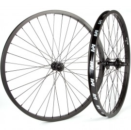 "26"" Revenge Industries 9t Cassette wheelset 3/8"" front sealed, 14mm rear BLACK"