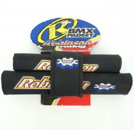 1990's NOS Robinson BMX padset BLACK