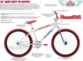 "2019 SE Racing 26"" Mike Buff PK Ripper bike - PRE ORDER DEPOSIT"