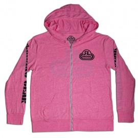 SE Racing Zipper Hoodie Sweatshirt PINK