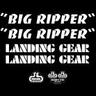 SE Racing Big Ripper frame & fork decal kit WHITE
