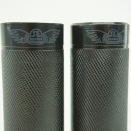 "SE Bikes Wheelie pegs (Pair) BLACK 3/8"""