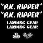 SE Racing PK Ripper frame & fork decal kit WHITE