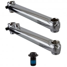 SE Racing Rad Series 175mm cranks BLACK or CHROME