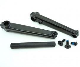 SE Racing Retro Box Series 175mm cranks BLACK or CHROME