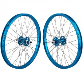 "20""x1.75"" SE Racing Sealed Bearing Wheelset BLUE"