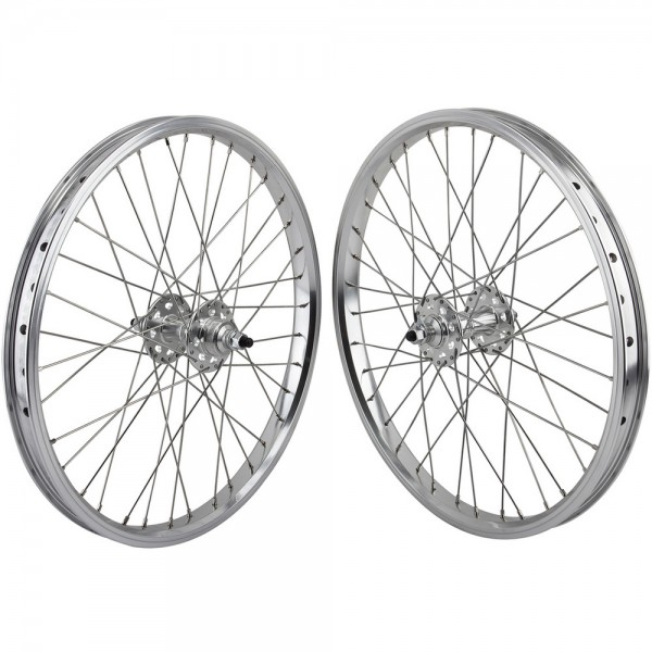 """SE RACING SEALED BEARING 36h--3//8/"""" AXLE SILVER FRONT HUB"""