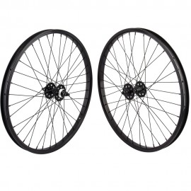 "24""x1.75"" SE Racing Sealed Bearing Wheelset BLACK"