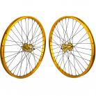 "24""x1.75"" SE Racing Sealed Bearing Wheelset GOLD"
