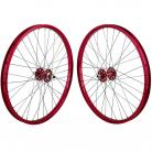 "24""x1.75"" SE Racing Sealed Bearing Wheelset RED"