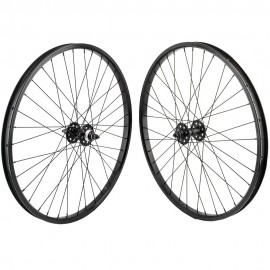 "26""x1.75"" SE Racing Sealed Bearing Wheelset BLACK"
