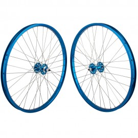 "26""x1.75"" SE Racing Sealed Bearing Wheelset BLUE"