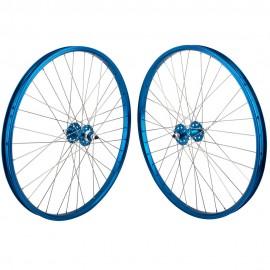 "26""x1.75"" SE Racing Sealed Bearing Wheelset BLUE"