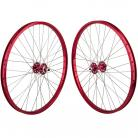 "26""x1.75"" SE Racing Sealed Bearing Wheelset RED"