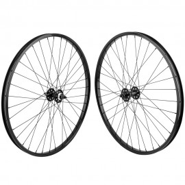 "29""x1.75"" SE Racing Sealed Bearing Wheelset BLACK"