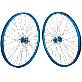 "29""x1.75"" SE Racing Sealed Bearing Wheelset BLUE"