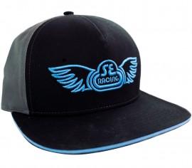 SE Racing Wing logo Hat BLACK / GRAY