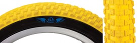 "16"" SE Racing / Vee Rubber Cub 2.125"" tire YELLOW w/ BLACK sidewall"