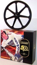 "50th Anniversary Skyway 24"" Tuff Wheels GRAPHITE CF with alloy flanges"