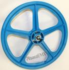 "AQUA BLUE 20"" Skyway TUFF WHEEL II SET- Freewheel"