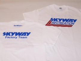 "Skyway ""Factory Team"" t-shirt WHITE"