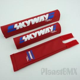 Skyway Frameset 3-Piece Pad Set RED (Skyway Designs)