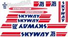 Skyway T/A xl decal kit