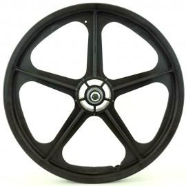 "20"" Skyway Tuff Wheel II set WHITE or BLACK (w/ reflector hole)"