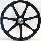 "50th Anniversary Skyway 24"" Tuff Wheels BLACK with alloy flanges"
