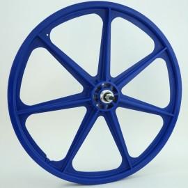 "BLUE 24"" Skyway TUFF WHEEL SET- Freewheel"