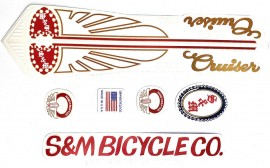 S&M Covid Cruiser Decal Kit