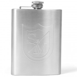 S&M Bikes Hip Flask STAINLESS STEEL