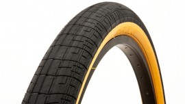 "26"" S&M Speedball 2.4"" tire BLACK w/ TAN SIDEWALL"