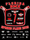 2015 Florida BMX 7th Annual Spring Fling Dickies Button Work Shirt BLACK or RED