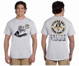 2017 Florida BMX 9th Annual Spring Fling T-shirt GRAY (Rasta)