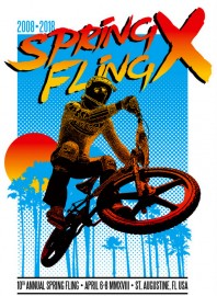 Florida BMX Spring Fling X Patterson Decal
