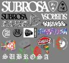 Subrosa 2019 assorted sticker pack