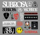Subrosa 2020 assorted sticker pack