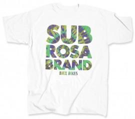 Subrosa Blotter t-shirt WHITE