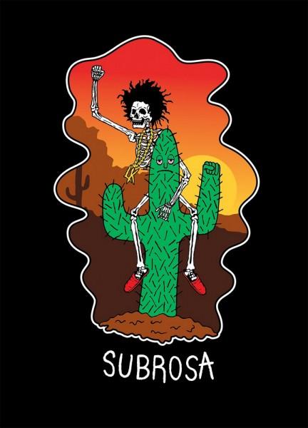 subrosa code tshirt black planet bmx