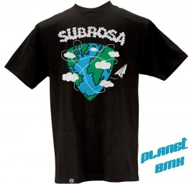 Subrosa Traveler t-shirt BLACK