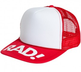 Subrosa x Radical Rick RAD Trucker Hat RED/WHITE